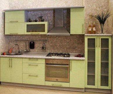 кухня в один ряд