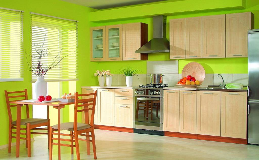Дизайн стены на кухне своими руками