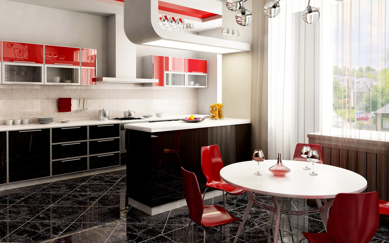 Кухня фото галереи современный