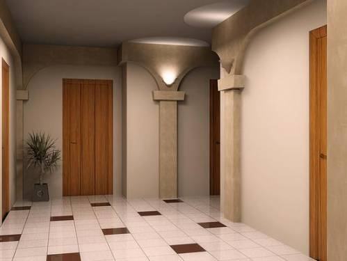 Плитка в коридоре фото плитка