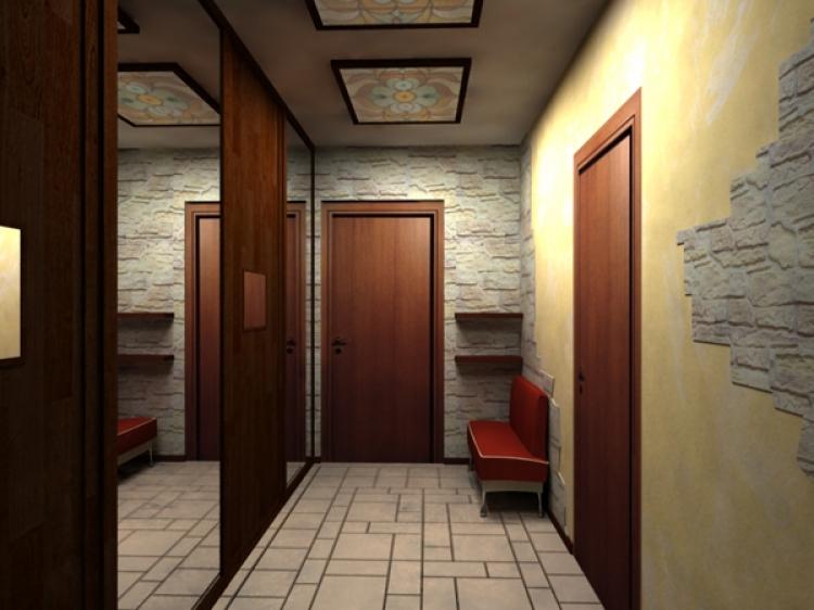 Интерьер прихожей и коридора